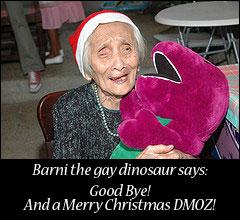 Barney The gay dinosaur